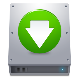 Disk HDD Down icon