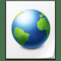 File Web icon