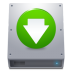 Disk-HDD-Down icon