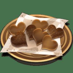 Chocolates cookies icon