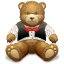 Gift Brown bear icon