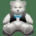 Gift-Light-Grey-bear icon