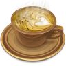 Coffee-brown icon
