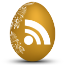 Rss white icon