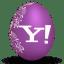 Yahoo white icon