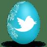 Twitter-white icon