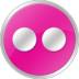 Flickr-Pink icon