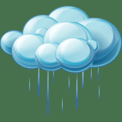 rain icon | large weather iconset | aha-soft team