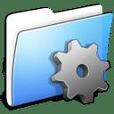 Aqua Smooth Folder Developer icon