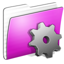 Folder Smart Stripped icon