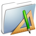 Graphite Smooth Folder Applications icon