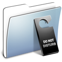 Graphite Smooth Folder Do not disturb icon