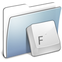 Graphite Smooth Folder Fonts icon