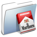 Graphite Smooth Folder Marlboro icon