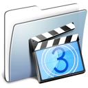 Graphite-Smooth-Folder-Movies icon
