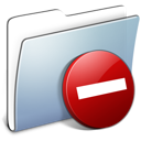 Graphite Smooth Folder Private icon