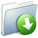 Graphite Stripped Folder DropBox icon