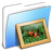 Aqua-Smooth-Folder-Pictures icon