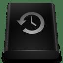 Black Drive Backup icon