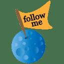 Twitter moon icon