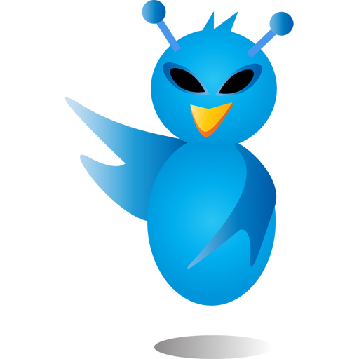Alien-bird icon