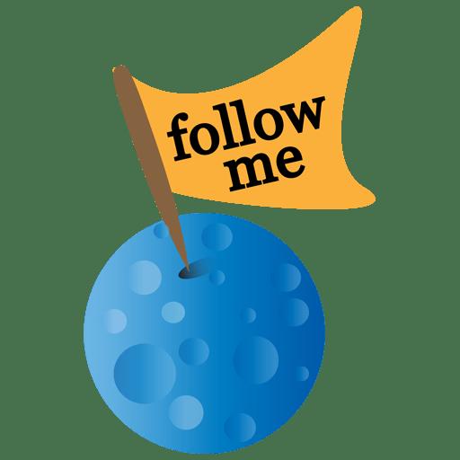 Twitter-moon icon