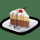 Recipe dessert cake icon