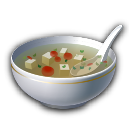 Recipe soup icon