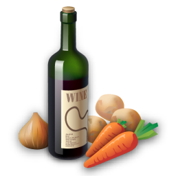 Recipe wine icon