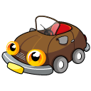 Car Brown icon