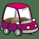 Car Purple icon