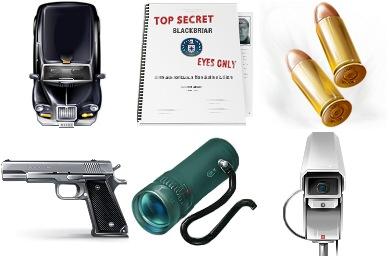 The Bourne Ultimatum Icons