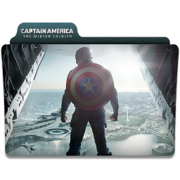Captain America Winter Soldier Folder 1 icon