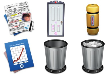 Monsters Inc. Icons