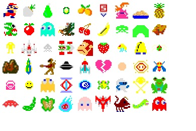 Arcade Saturdays Icons