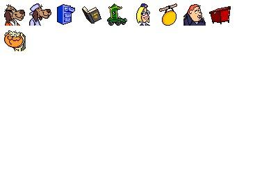 Hong Kong Phooey Icons