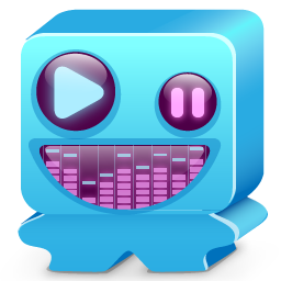 Monster blue icon