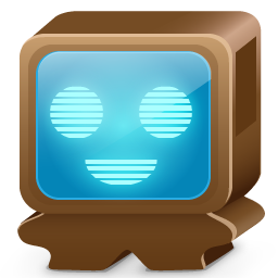 Monster brown icon