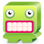 Monster green icon