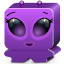 Monster violet icon