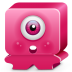 Monster-pink icon