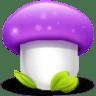 Mushroom-purple icon