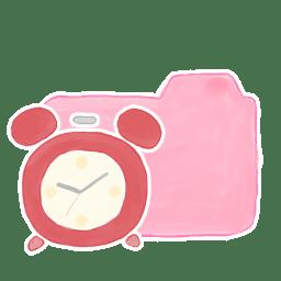 Folder Candy Clock icon