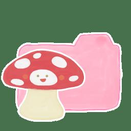 Folder Candy Mushroom icon