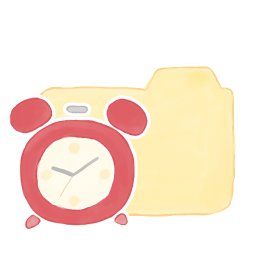 Folder Vanilla Clock icon