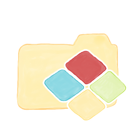 Folder Vanilla Windows icon