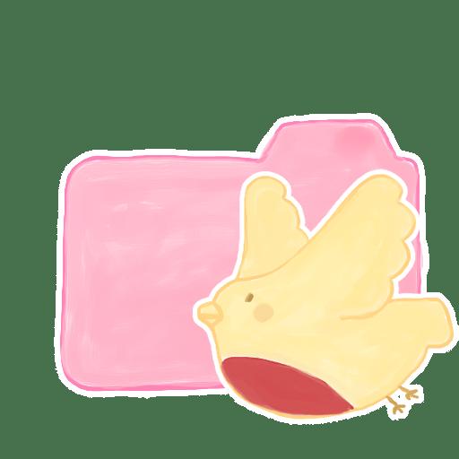 Folder-Candy-Birdie icon
