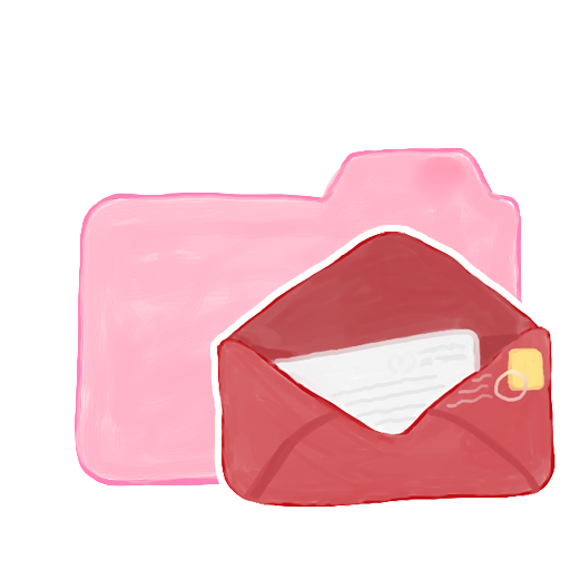 Folder Candy Mail icon