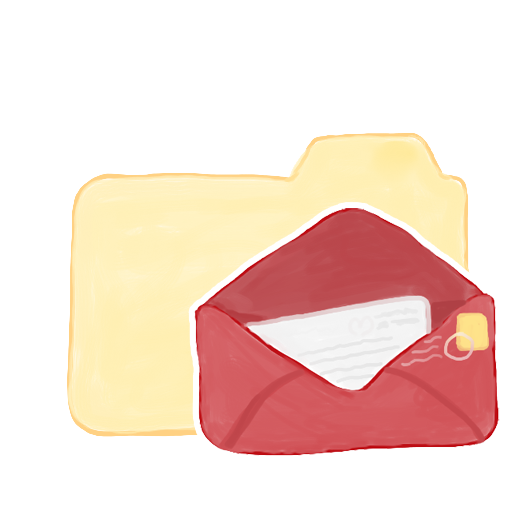 Folder Vanilla Mail icon