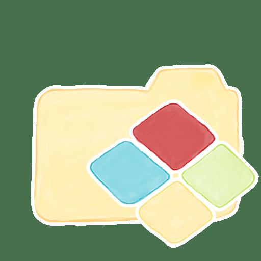 Folder-Vanilla-Windows icon